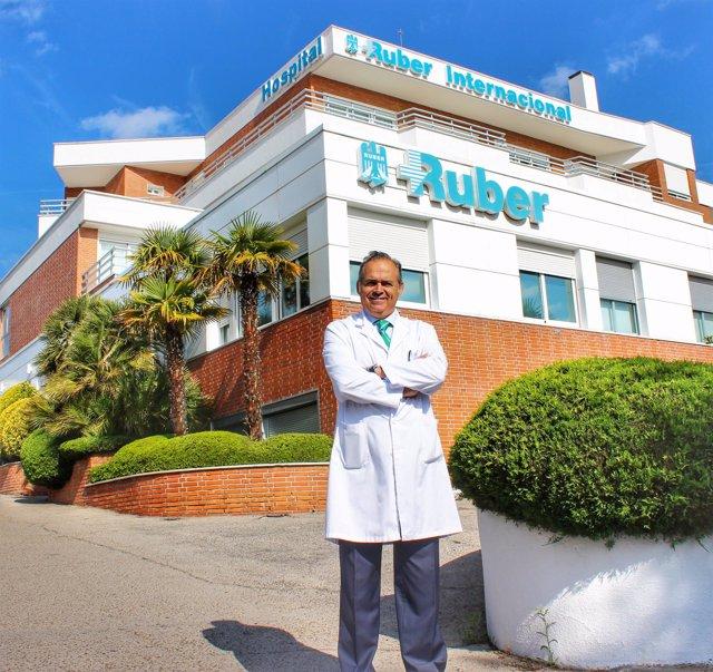 Manuel Conde, director gerente del Hospital Ruber Internacional