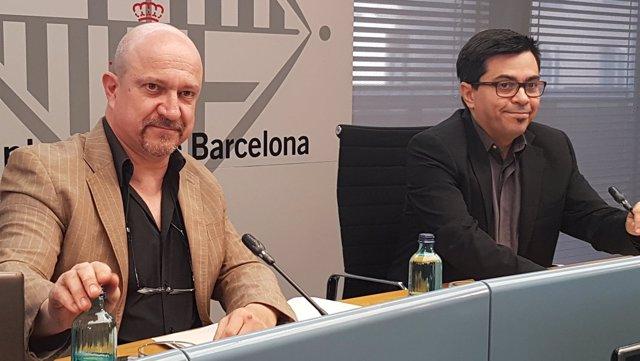 Gerardo Pisarello y Jordi Ayala