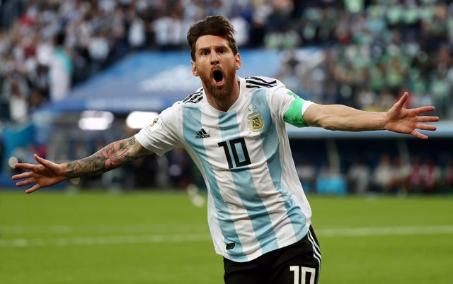 Leo Messi Nigeria Argentina