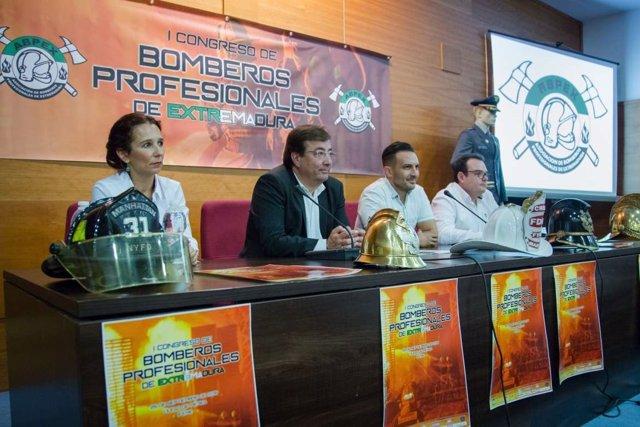 Congreso de Bomberos en Mérida