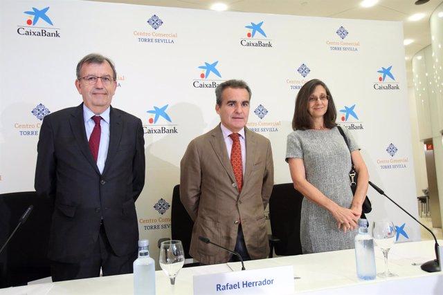 Rafael Herrador, Antonio Cayuela y Susana La Porta