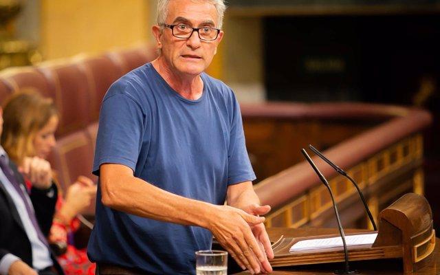 El Congreso niega permiso a Cañamero para poder votar a distancia mientras recogía aceitunas