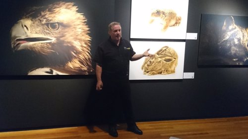 Fotógrafo Joel Sartore en la exposición Photo Ark en el MNCN de Madrid