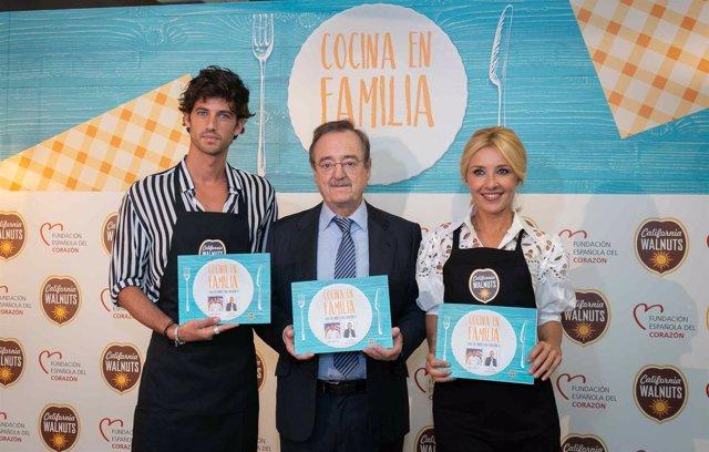 Cayetana Guillén-Cuervo y Jorge Brazález lanzan un libro de recetas