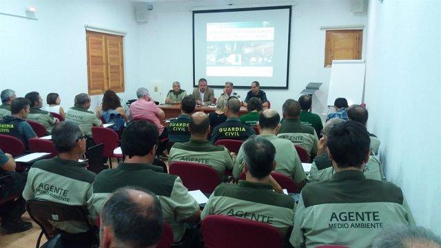 Inauguración del curso de formación para la lucha contra el veneno