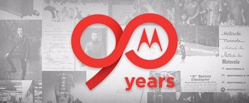 Motorola 90 años