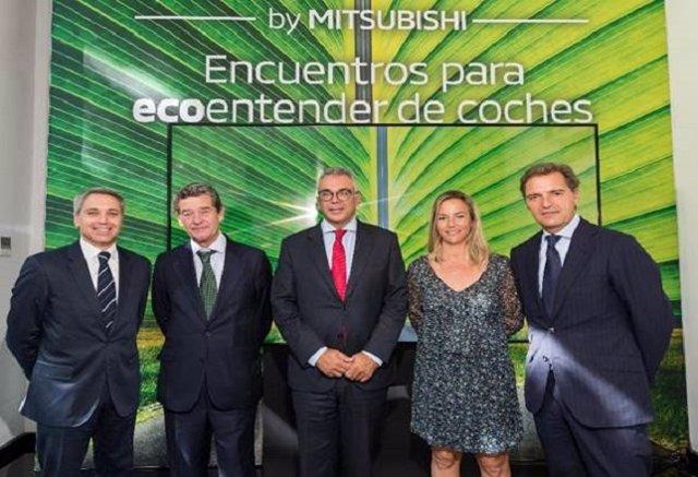 Mitsubishi inaugura el espacio EcoLab
