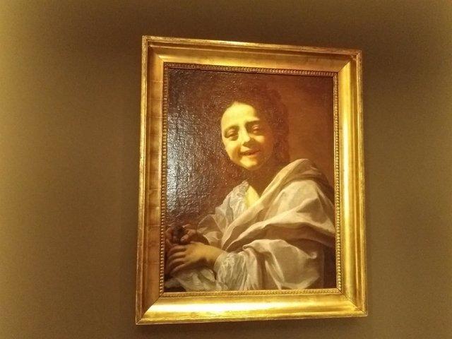 Retrato de niña de Vouet, en el Museo del Prado