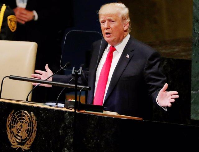 Donald Trump ante la Asamblea General de la ONU