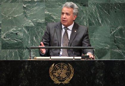 Lenín Moreno pide el fin del bloqueo estadounidense a Cuba