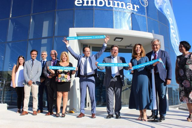 Rodrigo Sánchez Haro inaugura las nuevas instalaciones de Embumar