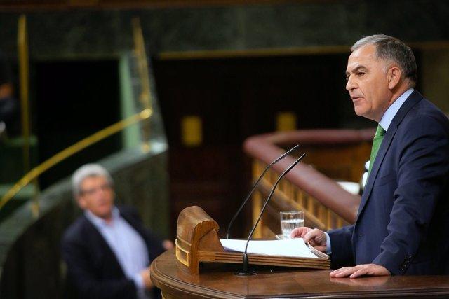 El diputado del PP Santiago Pérez en el Congreso