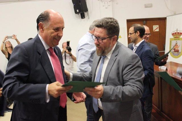 Sánchez Haro entrega ayudas de modernización a industrias agroalimentarias