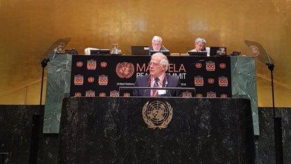 Borrell se reúne en la ONU con el canciller venezolano, Jorge Arreaza