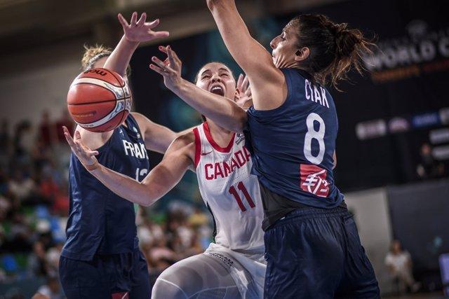 Canadá supera a Francia en el Mundial de Tenerife