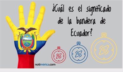 26 de septiembre, Día de la Bandera de Ecuador: qué significan sus colores y su escudo