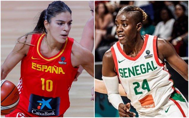 España y Senegal se enfrentan en el Mundial de Tenerife