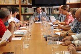 Reunión de Gallardo con beneficiarios de Edusi