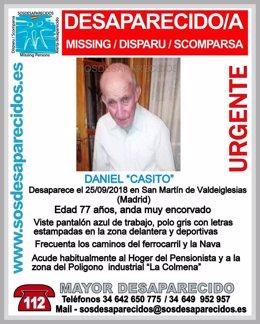Desaparecido en San Martín de Valdeiglesias