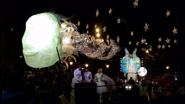 La cabalgata de los Reyes Magos 2016