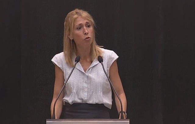La concejal de Cs en el Ayuntamiento de Madrid Silvia Saavedra