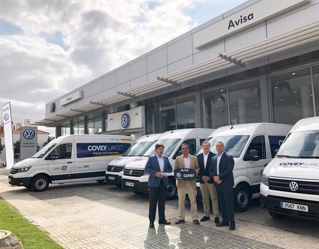 Covey Alquiler aumenta su flota con furgonetas de Volkswagen
