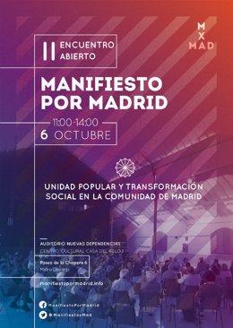 Manifiesto por Madrid