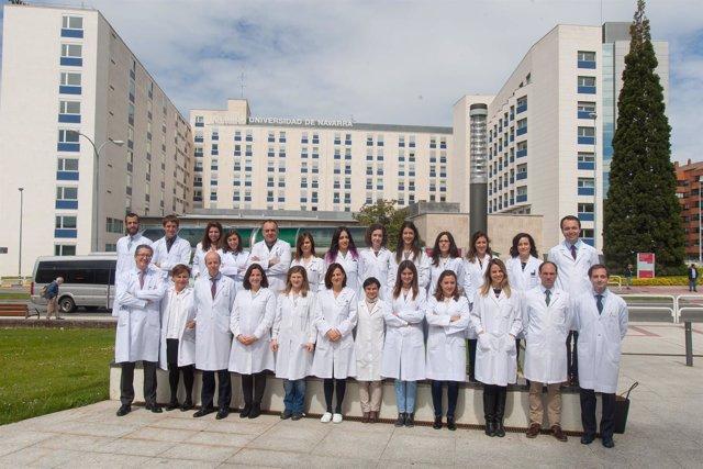 Investigadores del Grupo del Mieloma de la Clínica Universidad de Navarra y CIMA
