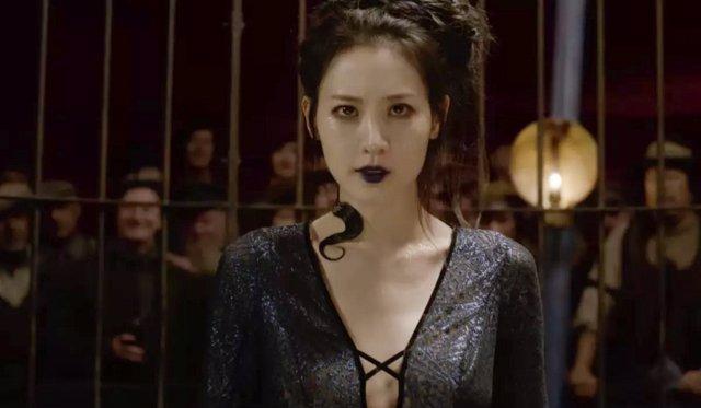 Claudia Kim en Animales Fantásticos: Los Crímenes de Grindelwald