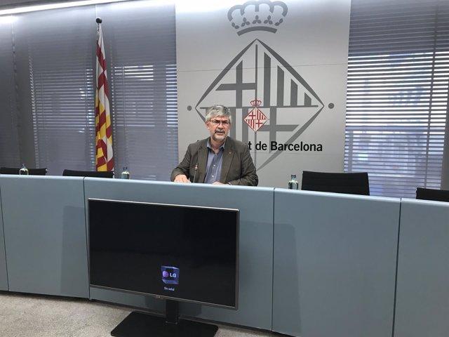El concejal de turismo de Barcelona, Agustí Colom