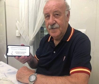 Vicente del Bosque y Pepa Fernández se unen a 'Porque Yo Importo', una campaña que pide cuidados paliativos de calidad