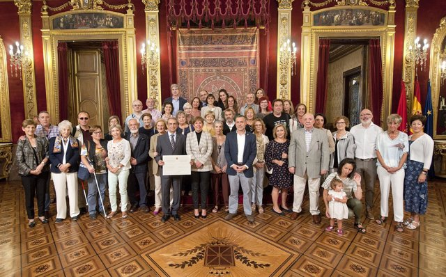 Reconocimiento del Goberno de Navarra al Teléfono de la Esperanza