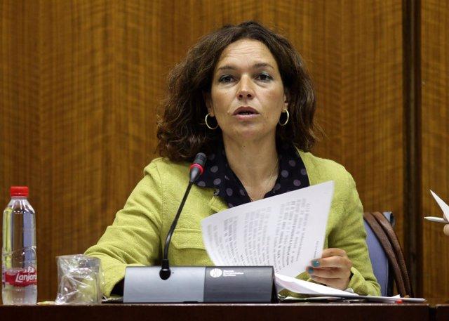 La consejera de Conocimiento, Lina Gálvez, en una imagen de archivo.