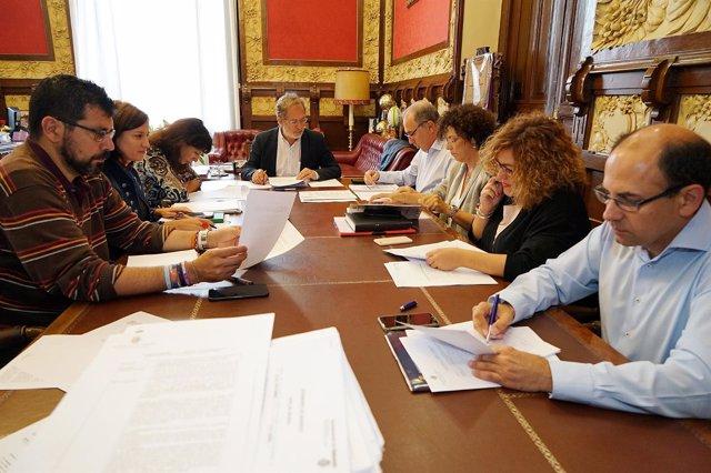 Reunión de la Junta de Gobierno del Ayuntamiento de Valladolid. 26-9-18