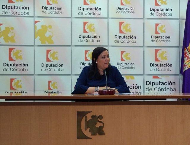 La presidenta de Iprodeco, Ana Carrillo