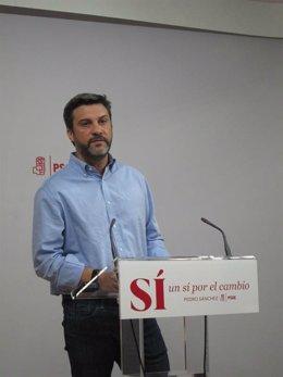 El diputado y portavoz Asamblea Joaquín López PSOE