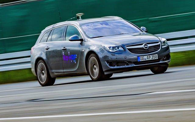 Opel Insignia del proyecto de conducción automática Ko-HAF