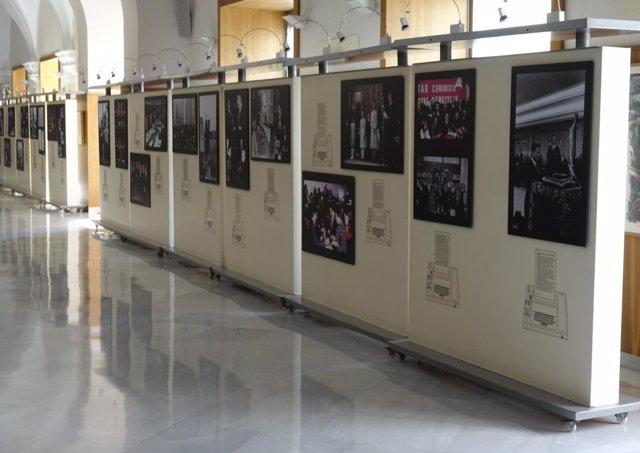 Exposición fotográfica de Europa Press sobre los 40 años de Constitución