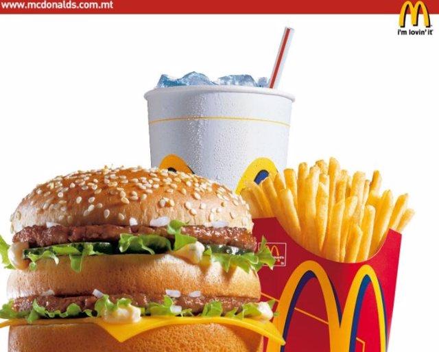 Comida del McDonalds