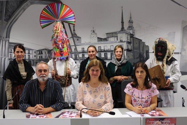 Presentación del III Encuentro de Etnografía y Folclore Ciudad de León, 26-9-18
