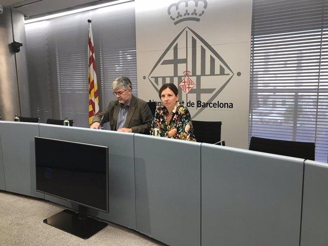 Agustí Colom y Laia Ortiz