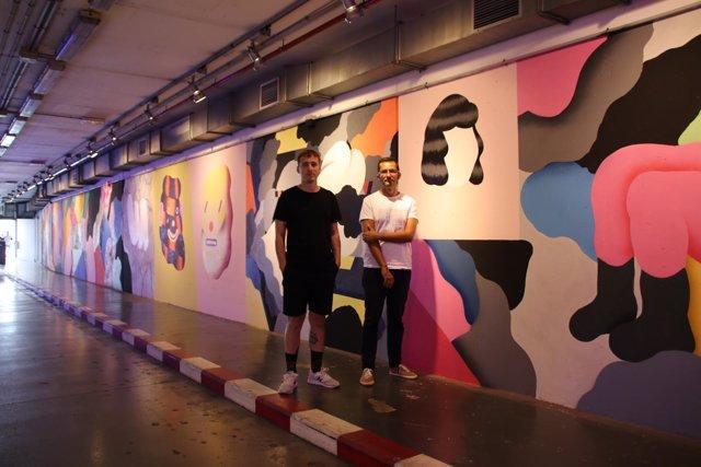 Mural de 'Grip Face'