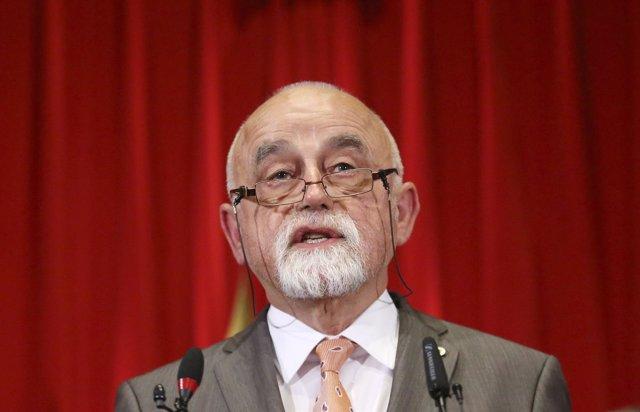 El presidente del Parlamento flamenco, Jan Peumans