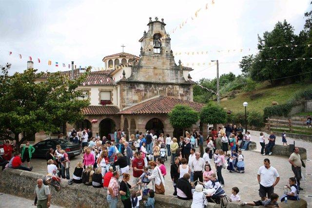 Ermita del Carmen, en Revilla de Camargo (archivo)