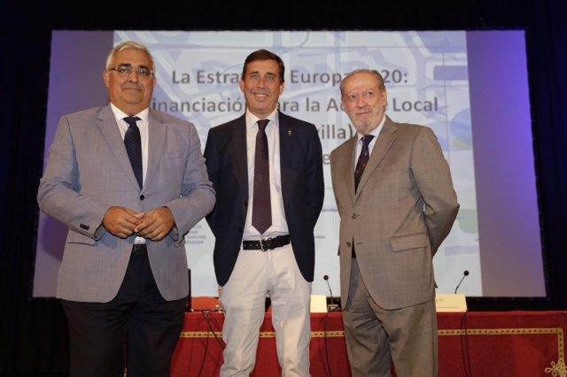 Antonio Ramírez de Arellano, José Leocadio Ortega, Fernando Rodríguez Villalobos