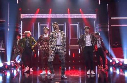 VÍDEO: Los surcoreanos BTS arrasan a su paso por The Tonight Show Starring Jimmy Fallon