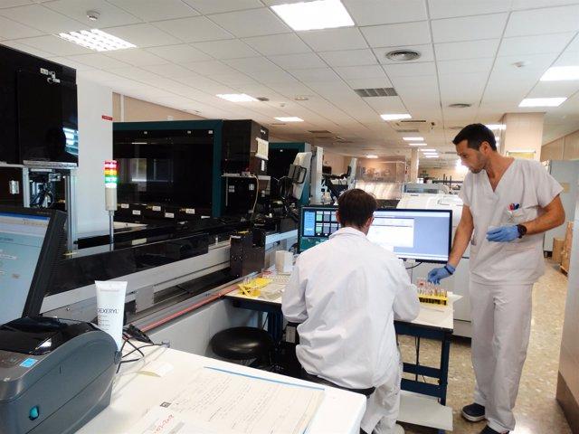 Area Laboratorios Clinicos hospital Costa del Sol