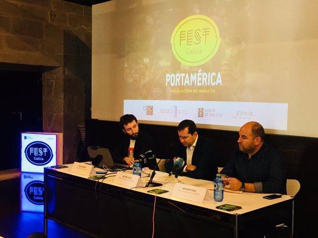 Presentación de los resultados del festival Portamérica 2018.