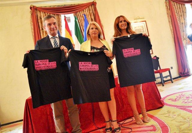 Presentación de la Noche Europea de los Investigadores en Jerez