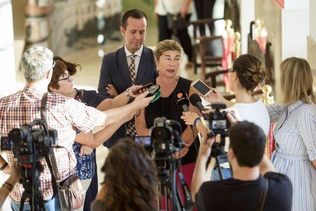 La concejala Rafaela Abad explica la elaboración del plan